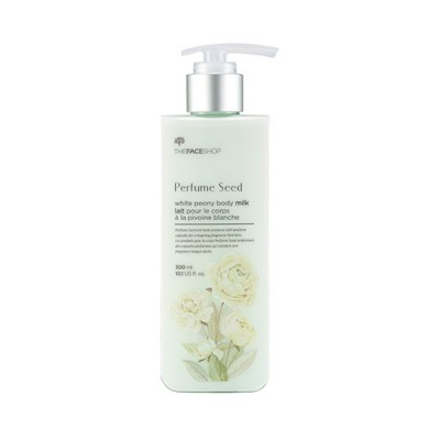 [THE FACE SHOP] Perfume Seed White Peony Body Milk – 300ml